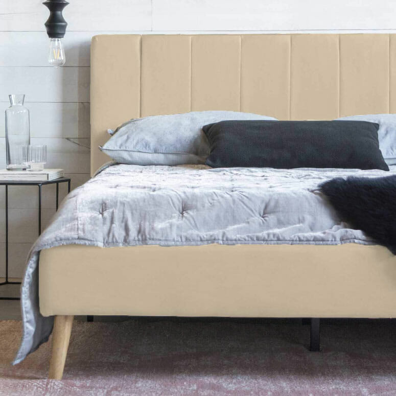 Divano Roma Full Size Platform Bed Frame