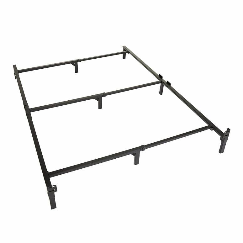 Amazon Basics 9-Leg Support Metal Bed Frame