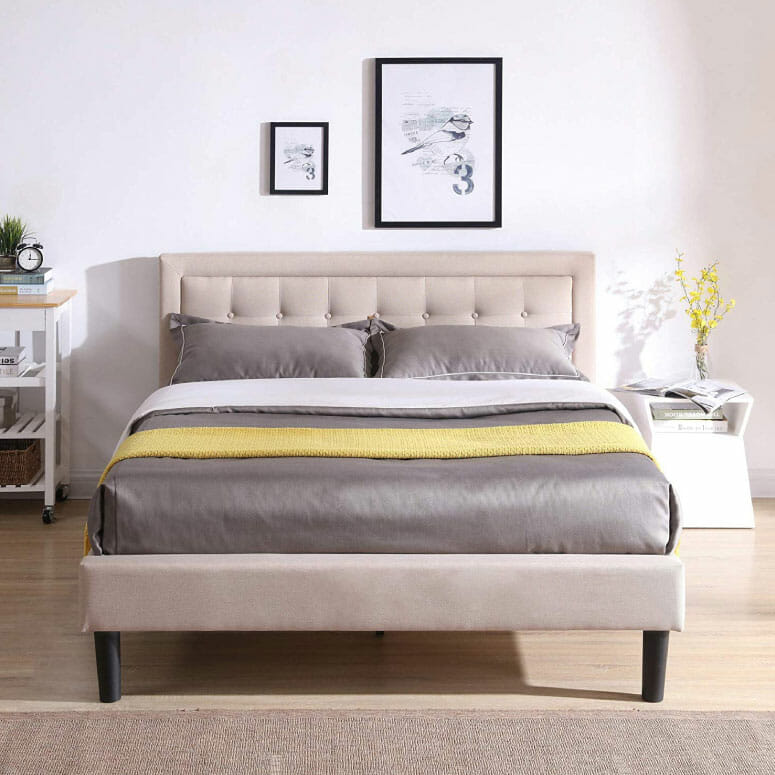 Mornington Upholstered Platform Bed
