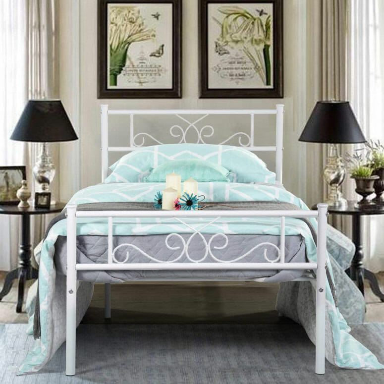SimLife Platform Bed