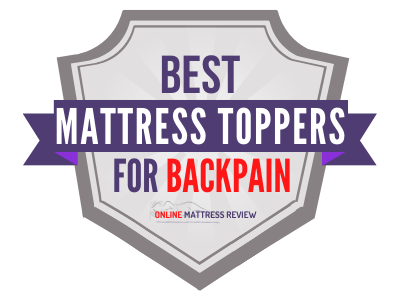 Best Mattress Toppers for Backpain Badge