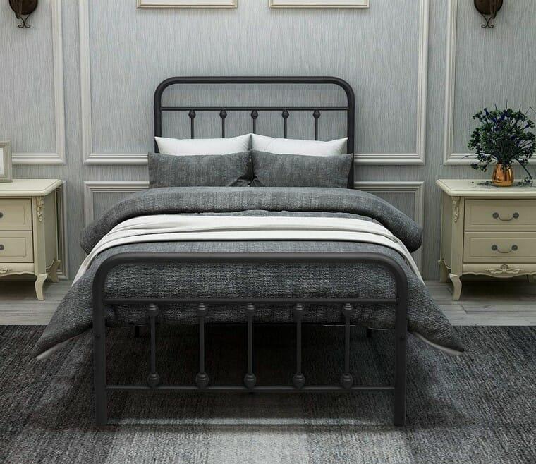 DUMEE Twin Metal Bed Frame
