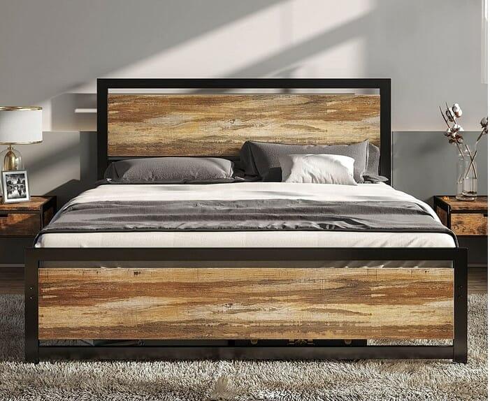 LIKIMIO Full Size Bed Frame