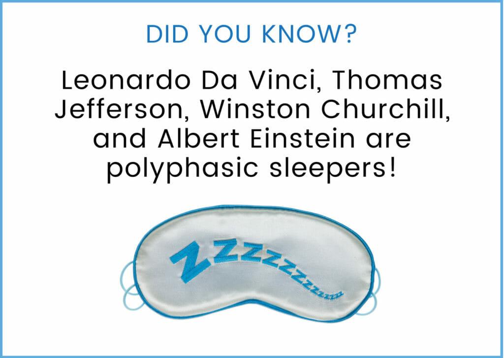 Polyphasic Sleep fact 5