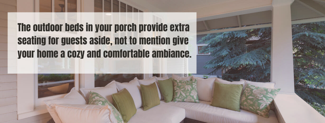 Best Beds for Porch fact 2