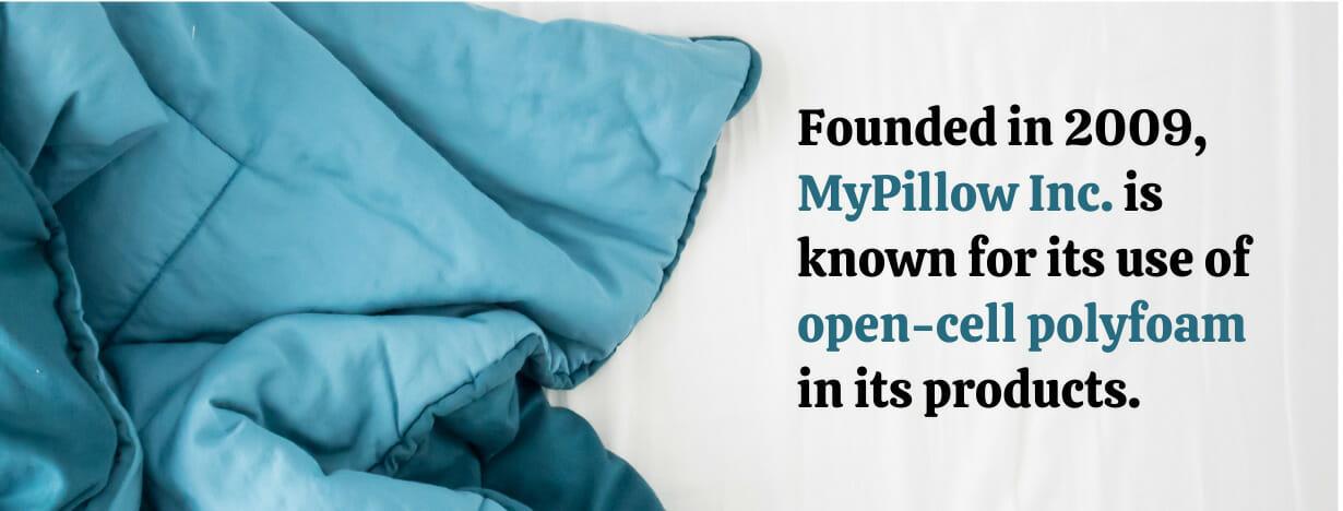 Zinus vs MyPillow fact 2