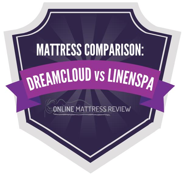 Dreamcloud vs Linenspa badge