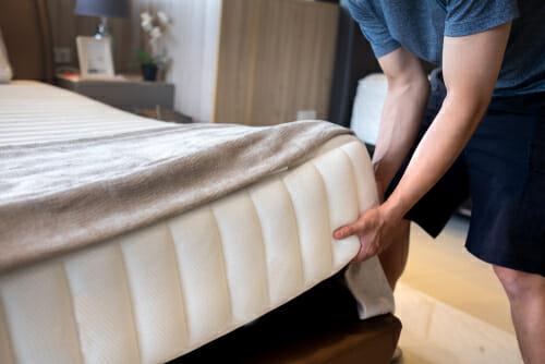 mattress' weight