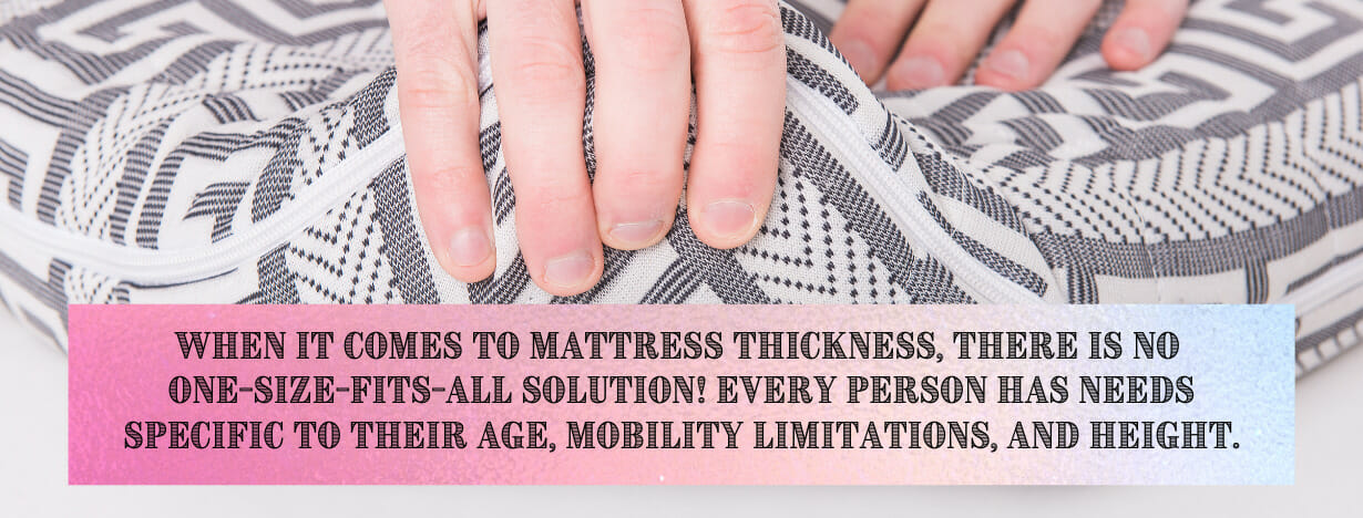Mattress Thickness tip